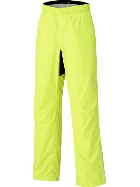 Shimano Expl**** Rain Pants Men neon yellow